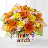 Birthday Celebration Bouquet by FTD - ftd flowers for birthday