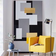 Create your own artwork by matching pieces of different sizes and designs #dcfix! .  Créez votre propre tableau en mixant des décors d-c-fix ! . . #dchome #artwork #walldecor #walldecoration #tableau #decomurale #uni #black #grey #white #gold #noir #gris #blanc #or #selfadhesive #adhesif #decoration #inspiration #diy #doityourself #diydecor #inspo #diyinspiration #homedecor #homedecoration #homeinspo #homesweethome #homesweethome