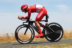 Jordan Kerby on his way to taking Gold in the U23 TT @ the Road Nationals 2014. Go Bont Cycling!!!