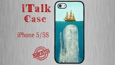Please visit our shop for more Designs: http://www.etsy.com/shop/italkcase    MODEL COMPATIBILITY: Fits ALL Versions of iPhone 5 / 5S ( AT&T, Verizon,