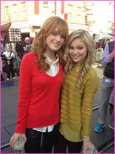 Bella Thorne And Olivia Holt Get Into The Holiday Spirit At Disneyland