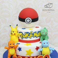 Pokémon Go cake - Dulcefina