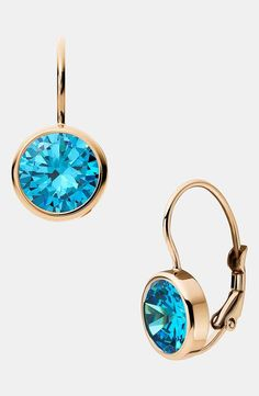 Love these blue earrings