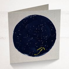 scorpio horoscope zodiac birthday card by purpose & worth etc | notonthehighstreet.com