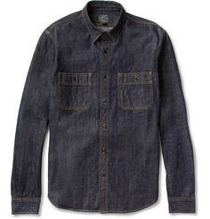 J.Crew Selvedge Denim Shirt | MR PORTER