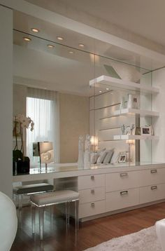 Renovating and updated bathroom vanity Home Decor Bedroom, Living Room Decor, Master Room, Suites, Beauty Room, Dream Rooms, New Room, House Rooms, House Design