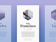 30 Brilliant Examples Of UI Cards:
