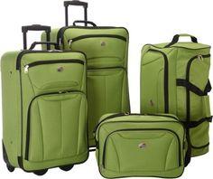 American Tourister Fieldbrook II 4 Pc Nested Luggage Set  Foliage Green - EXCLUSIVE COLOR - via eBags.com!