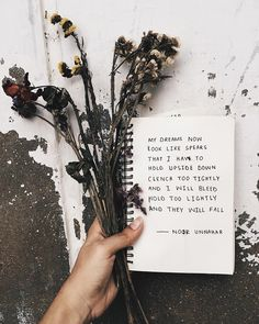— dreams // poetry by noor unnahar    // journaling journal ideas inspiration, words quotes handwritten writing female writers of color women pakistani artist poetic artsy, tumblr indie grunge hipsters aesthetics pale beige aesthetic floral flowers dry notebook stationery, instagram creative photography //