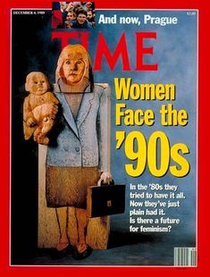 TIME Magazine Cover: A Future for Feminism? - Dec. 4, 1989 - Women ...