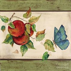 Apples Painting - Apple Delight by Jean Plout