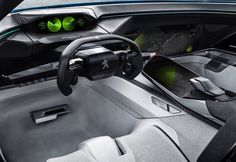 #Peugeot Instinct concept is an autonomous car for driving enthusiasts.