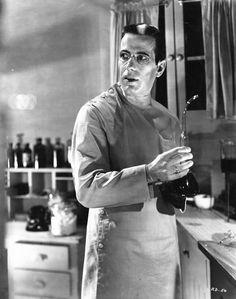 Humphrey Bogart en The Return of Doctor X(1939).
