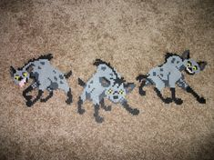 Lion King Perler Bead Wall Art by OntheWallCrafts on Etsy