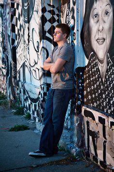 Detroit Graffiti Senior Pictures