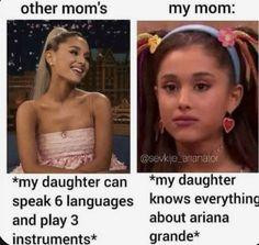 Cabello Ariana Grande, Ariana Grande Meme, Ariana Grande Photoshoot, Ariana Grande Pictures, Stupid Funny Memes, Funny Relatable Memes, Funny Facts, Funny Vidos, Ariana Grande Background
