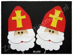 traktatie ♥ sinterklaas ♥ Winter Christmas, Christmas Time, Christmas Crafts, St Nicholas Day, Crafts For Kids, Diy Crafts, Catholic Art, Art Plastique, Winter Time