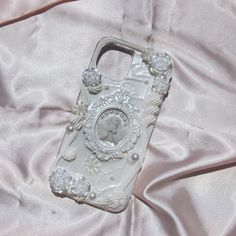 Decoden Phone Case, Diy Phone Case, Iphone Cases, Pink Yellow, Baroque, Dior, Charms, Angel, Purses