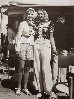 vintage everyday: Women in Trousers from 1930s-40s