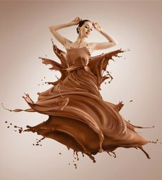 Chocolate Mousse Dress - YUM!