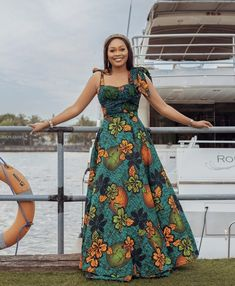 African Dresses For Women, African Attire, African Fashion Dresses, Ankara Skirt And Blouse, Ankara Dress, Maxi Gowns, African Print Fashion, Ankara Styles, Classy Outfits