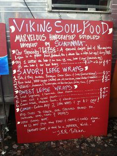 Voted one of the best food carts in the U., Viking Soul Food produces tip-top lefse and other handmade Scandinavian goodies. What Did Vikings Eat, Portland Food Trucks, Places To Eat, Places To Travel, Coffee Truck, Amazing Adventures, Portland Oregon, Soul Food, Words
