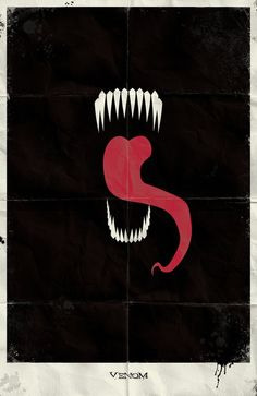 Minimalist Venom Art Print