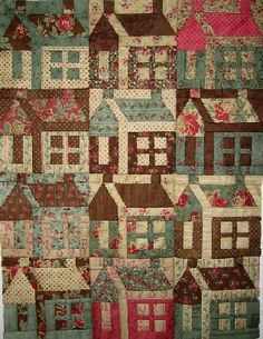 The Houses - photo from passionpatchwork blog (8/25/10)