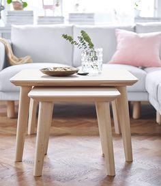 LISABO Coffee table, ash veneer