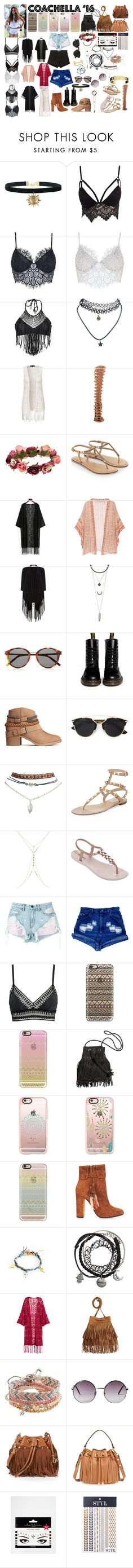 """""""Coachella '16 Styles"""" by angelbrubisc ❤ liked on Polyvore featuring Club L, For Love & Lemons, Luli Fama, Wet Seal, New Look, Liliana, Forever 21, Accessorize, Mes Demoiselles... and Soaked in Luxury"""