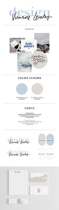Personal Rebrand: Viviane Lenders   Design - Graphic Designer, Letterer - www.viviane-lenders.com - #authentic #minimal #calm #sophisticated #brush #handlettering