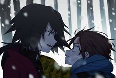 Imágenes random de Kimetsu no Yaiba - Tanjirou x Giyuu Manga Anime, Anime Demon, Otaku Anime, Anime Art, Demon Slayer, Slayer Anime, Northern Lights Norway, Anime Couples Drawings, Demon Hunter
