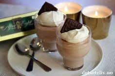 After Eight sjokolademousse | Det søte liv