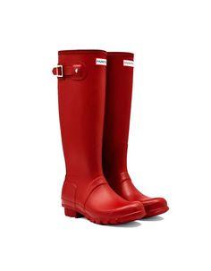 62328d87a27 Bota Hunter Original mujer color rojo Composición exterior  100% Caucho de  latex Composición interior