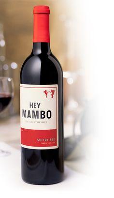 diseño de logo Hey Mambo vino
