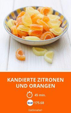 Yami Yami, Eat Smarter, Fruit Recipes, Sweets, Snacks, Desserts, Chocolate Candies, Marmalade, Lemon