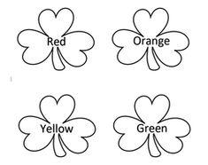 Shamrock Color Learning Ideas