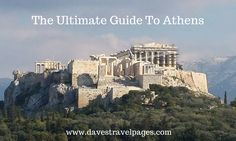 This Ultimate Guide to Athens reveals the best of the city. From where to stay near the Acropolis, to sightseeing in Athens, plan the perfect city break.