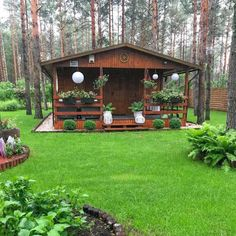 Rest House, House In The Woods, Patio Gazebo, Backyard, Summer House Interiors, House Design Pictures, Thai House, Wooden Storage Sheds, Best Tiny House