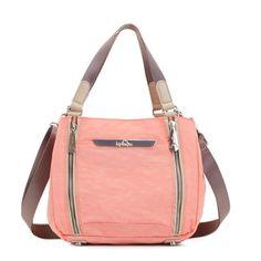 Stacie Handbag - Pink Sherbert Sand Castle Combo