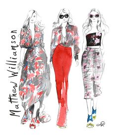 Matthew_Williamson_spring_15_catwalk_fashion_illustration