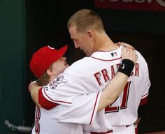 Todd Frazier and Teddy