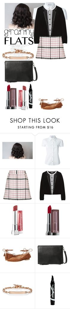 """""""Untitled #719"""" by d-cuevas ❤ liked on Polyvore featuring RED Valentino, Topshop, Alice + Olivia, Maybelline, Kennel + Schmenger, MANGO, Hoorsenbuhs, women's clothing, women's fashion and women"""