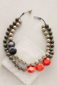 at anthropologie Rekenrek Layered Necklace