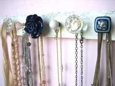 INNOVATIVE JEWELRY STORAGE IDEAS