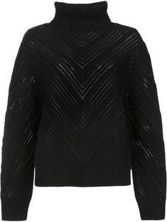 Frame Denim Turtleneck Sweater, http://www.kirnazabete.com/just-in/swtr-turtleneck-chevron-knit