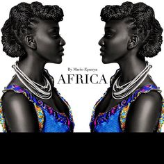 Stand up Africa and apologize for who You are. Be proud