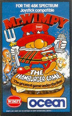 Mr Wimpy Computer Game (Spectrum 48k)