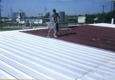 Best Commercial Metal Roof Coating  Armor Garage metal roof coating is specifically designed and guaranteed to stop your roof from leaking.