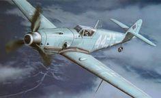 Messerschmitt Bf 109G-10 Night Fighter, NJG 11 (T. Hoshino, Hasegawa box art)